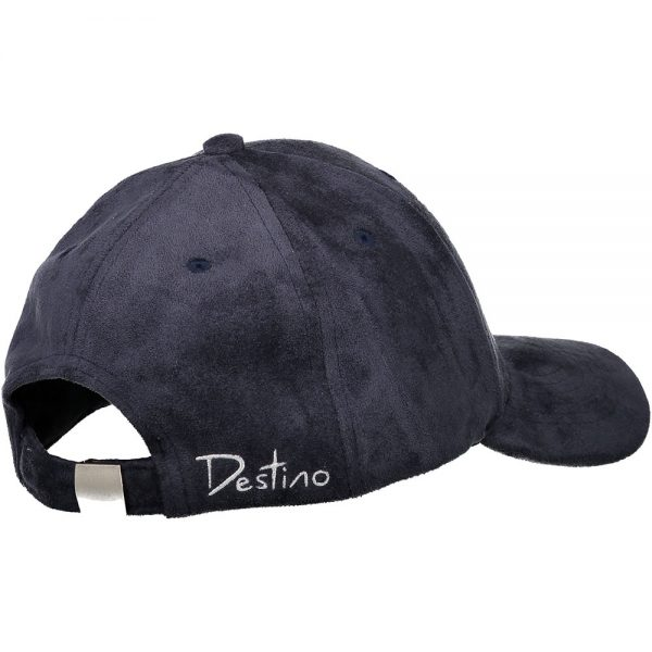 Destino navy blue hat headwear