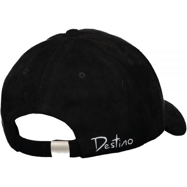 Destino Clean Hat Black suede