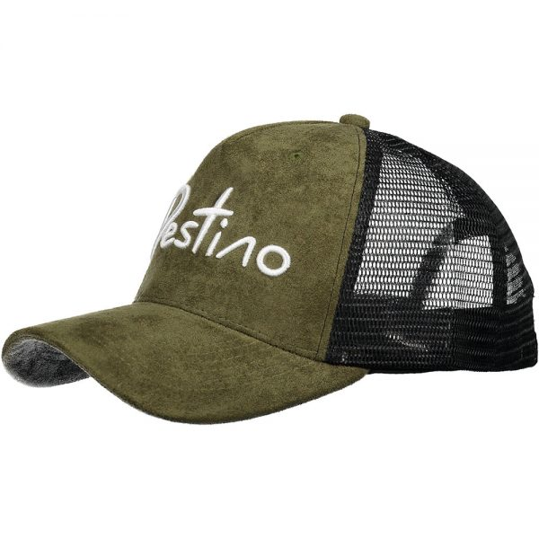 Destino trucker hat army suede