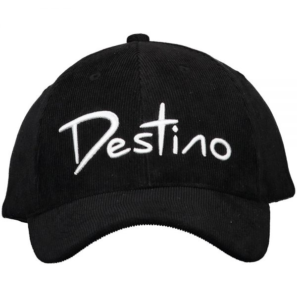 Destino baseball hat black cordudoy