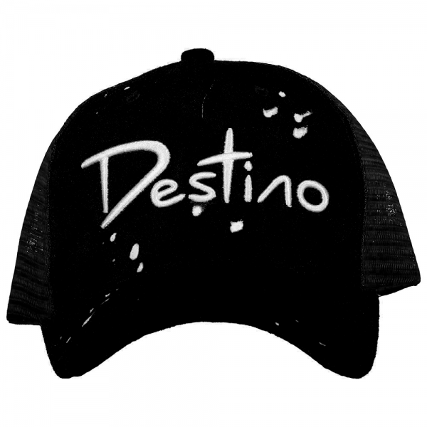 Destino trucker Custom Suede Black